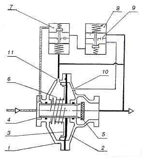 Клапан рабочий для РДП-50В